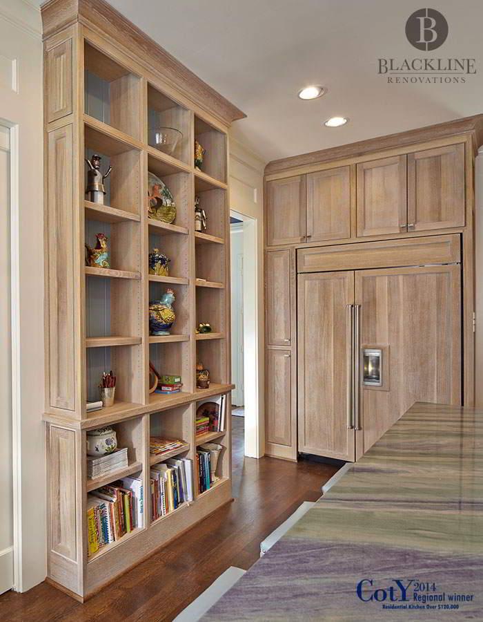 Kistler Kitchen Bookshelves