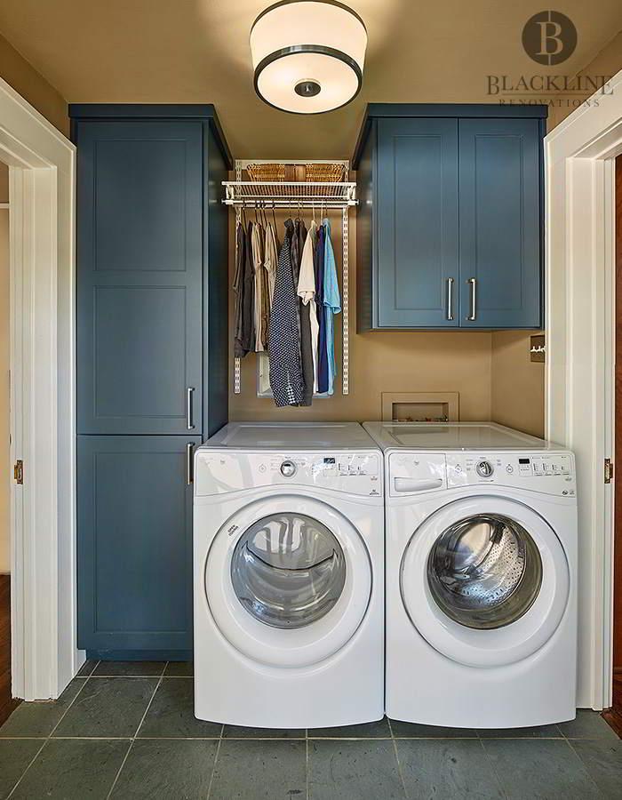 Laundry Room Blackline Renovations