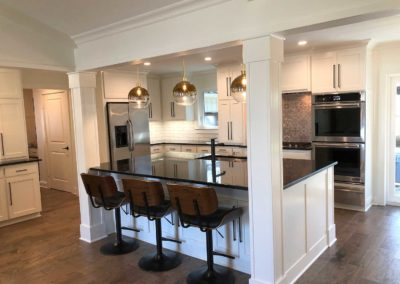 Royal Northaven Contemporary Kitchen Renovation