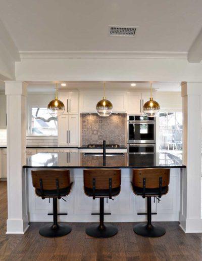 Royal Northaven Contemporary Kitchen Renovation
