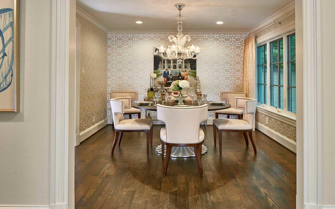 Preston Hollow Luxury Dining Room Renovation