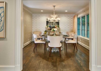Preston Hollow Luxury Dining Room Renovation