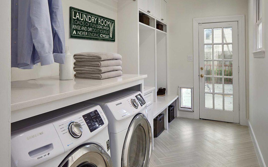 Greenland Hills Luxurious Laundry Room Renovation