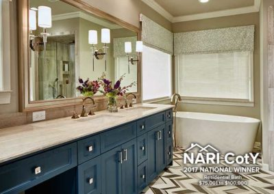 North Dallas Modern Bathroom Oasis Makeover