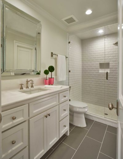Preston Hollow Classic Bathroom Renovation
