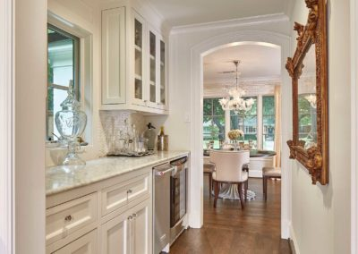Preston Hollow Luxury Butler's Pantry Renovation
