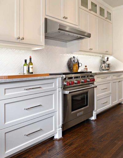 University Park Transitional Kitchen Renovation