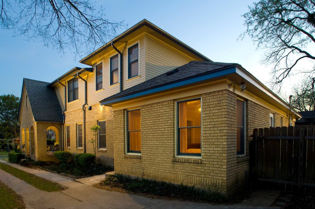 Yellow-Tan-Brick-Siding-Second-Story-Addition-in-M-Streets-Dallas