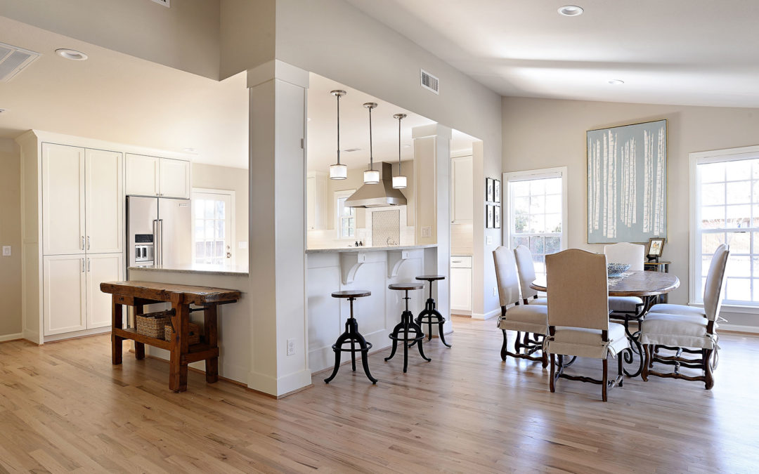 Bluffview Contemporary Kitchen Remodel