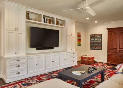 Preston Hollow Luxury Media Room Renovation