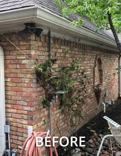 Preston Hollow Garage Addition - BEFORE