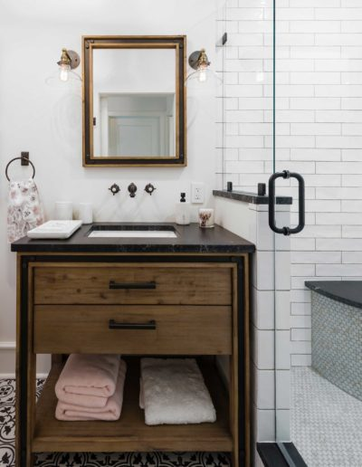 Preston Hollow Garage Addition - Bathroom