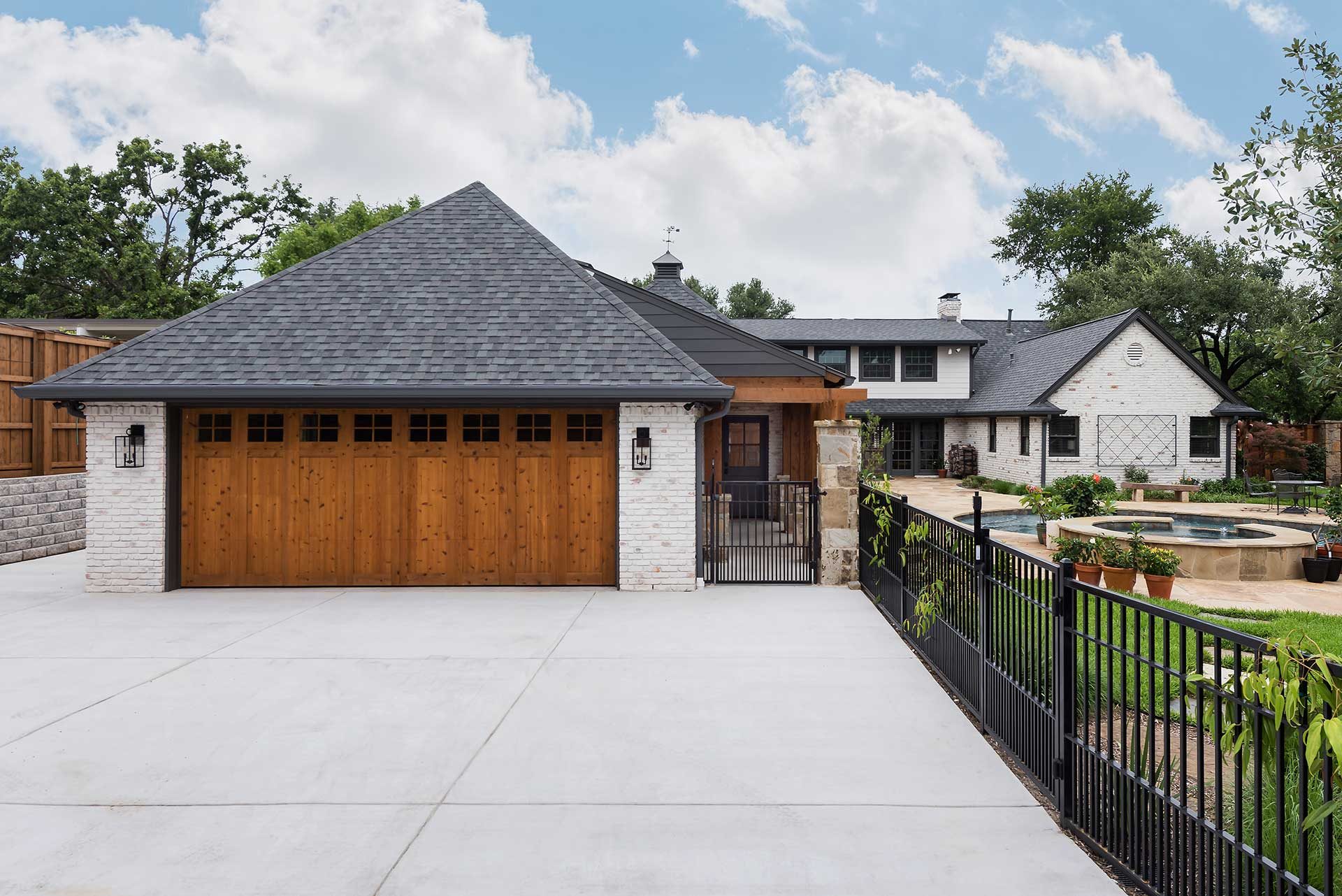 Preston Hollow Garage Addition