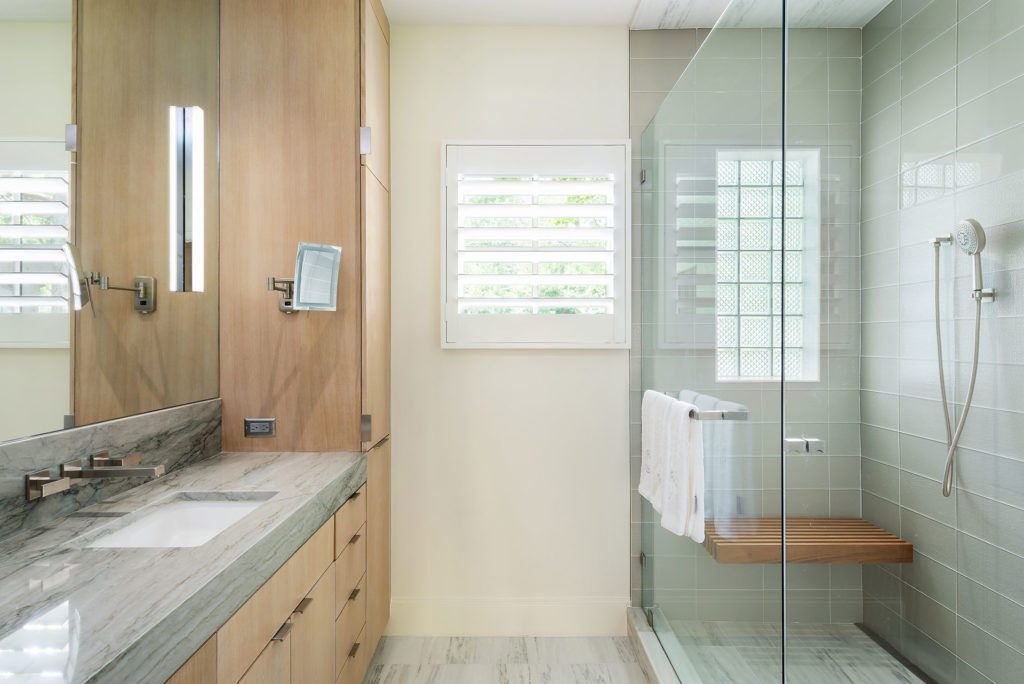 Preston Hollow Modern Luxury Master Bathroom