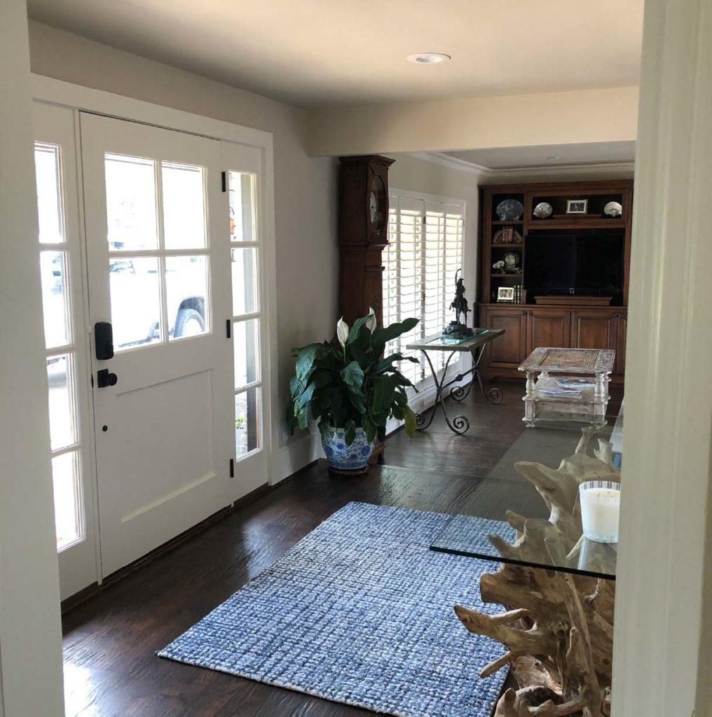 Preston Hollow Garage Addition - Bedroom