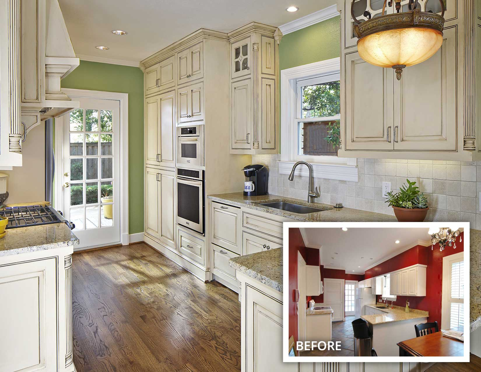 Greenland Hills Traditional Kitchen Remodel on the M-Streets