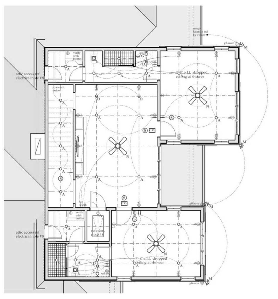 2nd Floor Electrical Plan