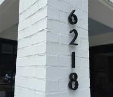 Detail - House Numbers