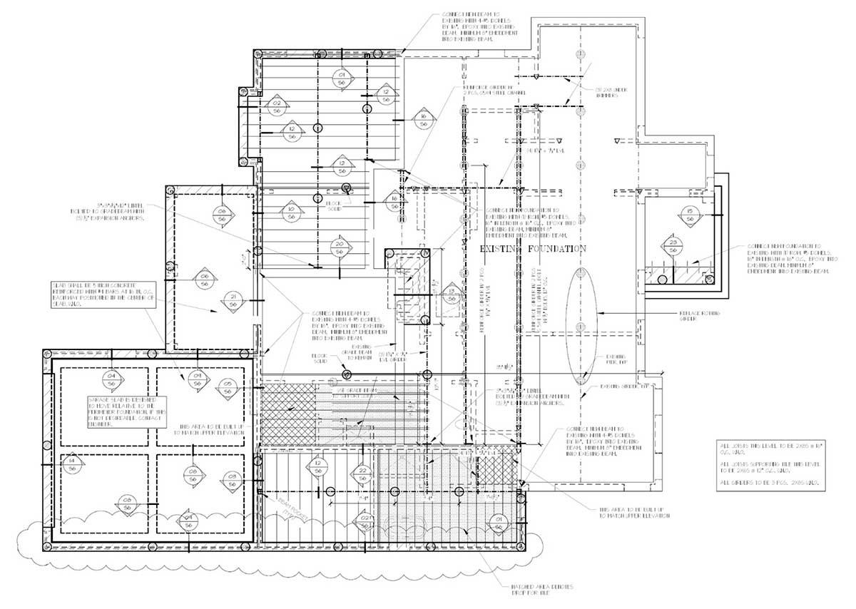 Foundation Floorplans