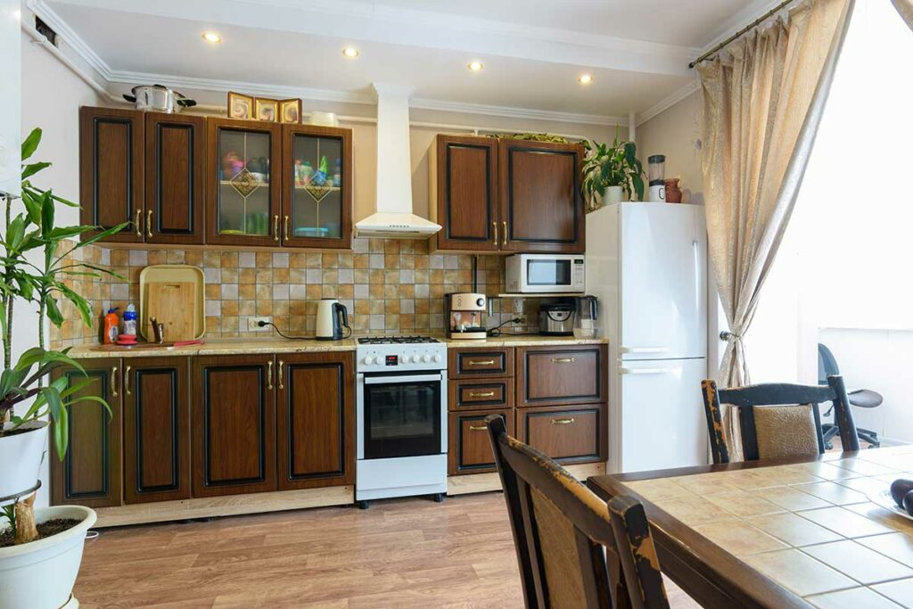 Outdated Kitchen and Appliances