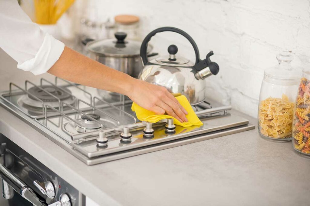 Hard to Clean Kitchen